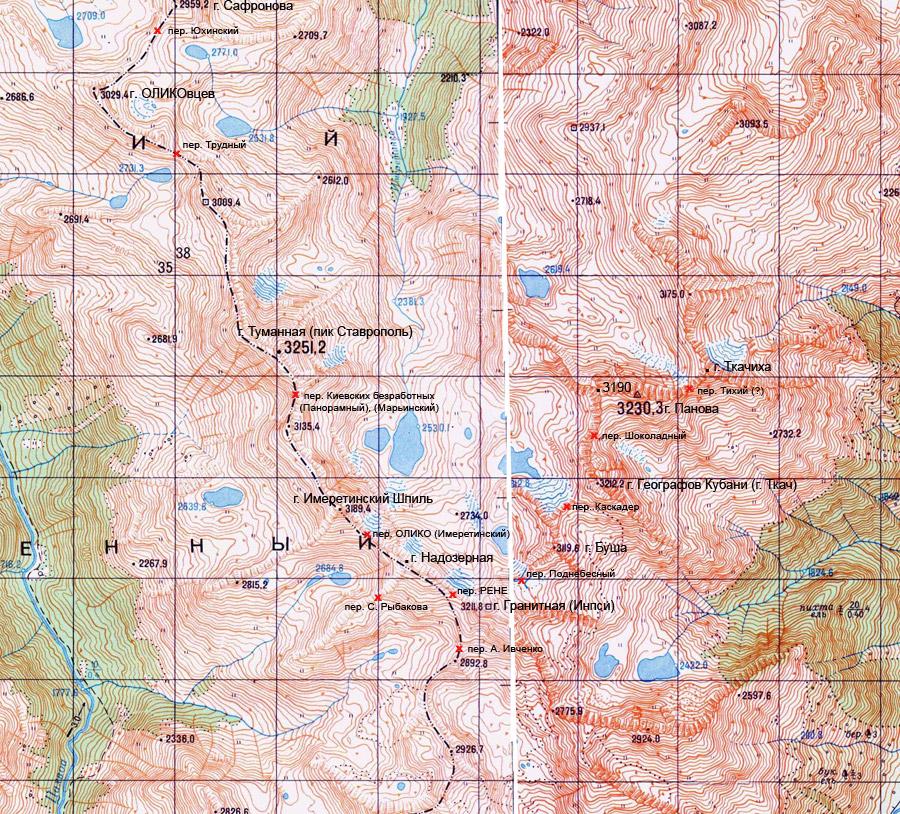 карта имеретинки